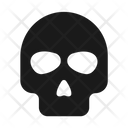 Danger Poison Skull Icon