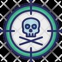 Danger Skull Death Icon