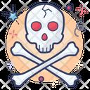 Danger Jolly Roger Danger Symbol Icon