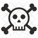 Skull Death Ddos Icon