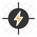 Danger Electricity Risk Icon
