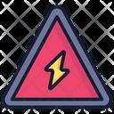 Danger Warning Risk Icon