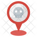 Danger Skull Maps And Location Icon