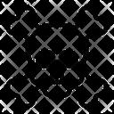 Crossbones Danger Skull Icon