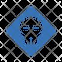 Skull Danger Board Icon