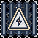 Danger Acid Rain Nuclear Icon
