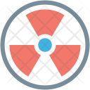 Danger Nuclear Radiation Icon