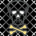 Danger Skull Dead Icon