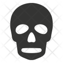 Danger Death Halloween Icon
