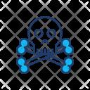 Danger Skull Scary Icon