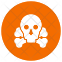 Danger Skeleton Skull Icon