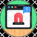 Alert Message Web Danger Web Alarm Icon