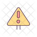 Danger Alert Risk Icon