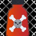 Danger Chemical Poison Skull Icon