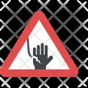 Danger Electric Hazard Icon