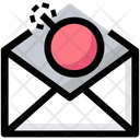 Email Bomb Spam Icon