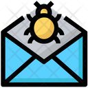 Danger Mail Icon