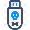 Danger Pendrive Icon