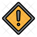 Sign Traffic Alert Icon