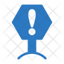 Danger Sign Board Icon