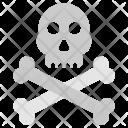 Danger Death Skull Icon