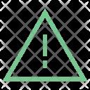 Danger Sign Triangular Icon
