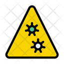 Danger Corona Virus Icon