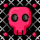 Dangerous Skull Danger Icon