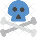 Dangerous Bone Danger Icon