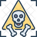 Dangerous Menacing Unsafe Icon