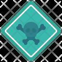 Quarantine Warning Caution Icon