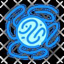 Dangerous Virus Color Icon