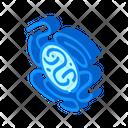 Dangerous Virus Isometric Icon