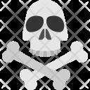 Dangerous Horror Concept Icon