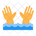 Dangerous Current Sign Icon