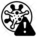 Dangerous Covid 19 Icon