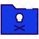Dangerous Folder Unsafe Folder Folder Virus Icon