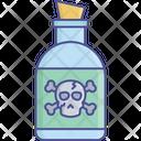 Dangerous Poison Healing Potion Magical Liquid Icon