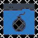 Dangerous Website Icon