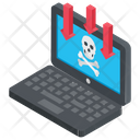 Dangers Of Internet Online Risks Computer Crime Icon