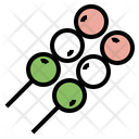 Dango Japanese Dessert Icon