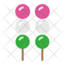 Dango Japanese Food Icon