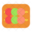 Dango Food Japanese Icon