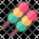 Dango Sweet Dessert Icon