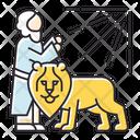 Daniel In Lion Den Icon