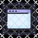 App Blockchain Dapp Icon