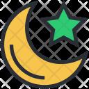Dark Evening Midnight Icon