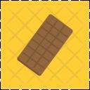 Dark Chocolate Bar Icon