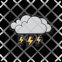 Dark Cloud Thunder Icon