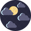 Dark Clouds Climate Clouds Icon